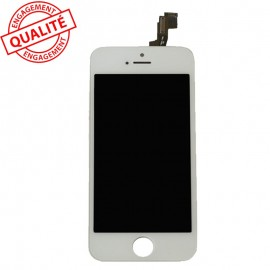 Ecran lcd iphone 4s blanc complet