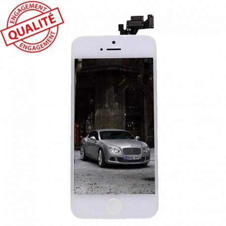 Ecran lcd iphone 5 blanc