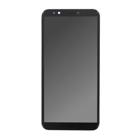 Ecran lcd Huawei Y7 2018 sur chassis noir sans logo
