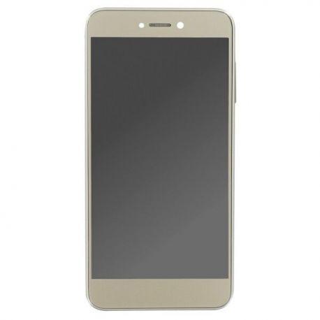 Ecran lcd Huawei P8 Lite 2017 sur chassis doré sans logo