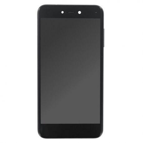 Ecran lcd Huawei P8 Lite 2017 sur chassis noir sans logo