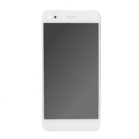 Ecran lcd Huawei P9 Lite mini sur chassis blanc sans logo