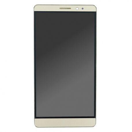 Ecran lcd Huawei Mate 8 sur chassis doré sans logo