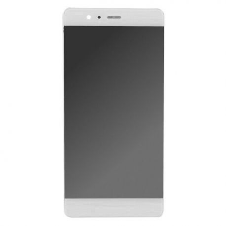 Ecran lcd Huawei P9 sur chassis blanc sans logo