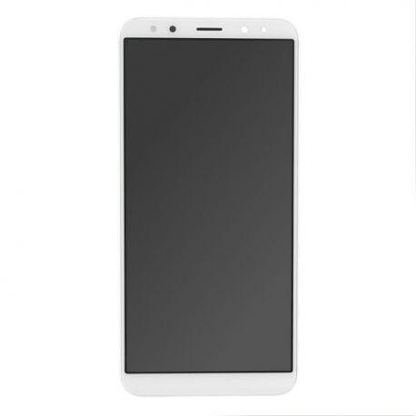 Ecran lcd Huawei Mate 10 Lite sur chassis blanc sans logo