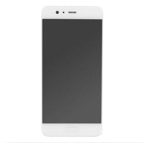 Ecran lcd Huawei P10 sur chassis en or blanc sans logo