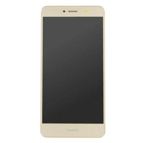 Ecran lcd Huawei Y7 Prime 2017 sur chassis doré
