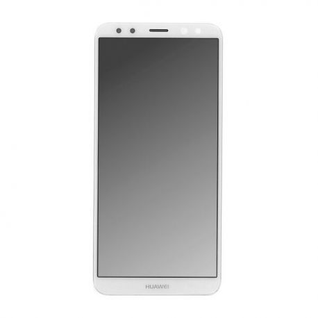 Ecran lcd Huawei Mate 10 Lite sur chassis blanc