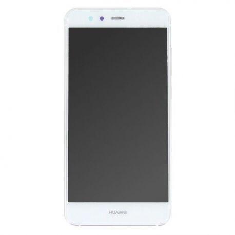 Ecran lcd Huawei P10 Lite sur chassis blanc