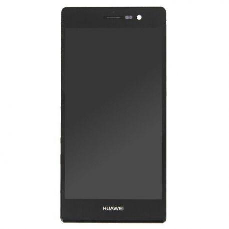 Ecran lcd Huawei P7 sur chassis noir
