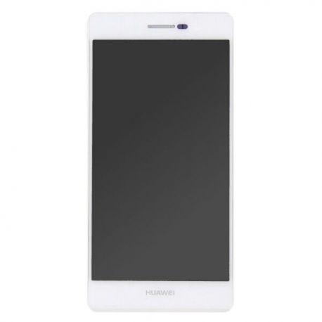 Ecran lcd Huawei P7 sur chassis blanc