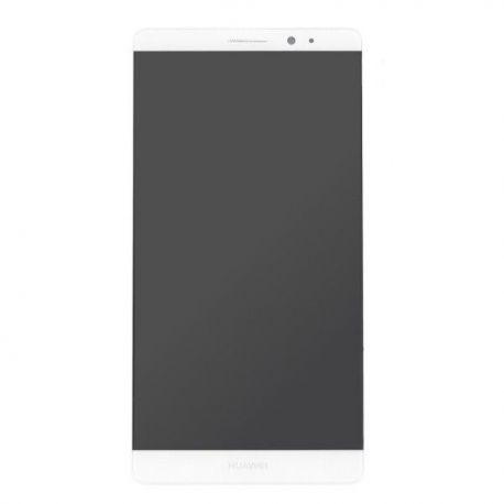 Ecran lcd Huawei Mate 8 sur chassis blanc