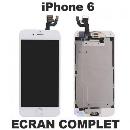 Ecran lcd iphone 6 blanc