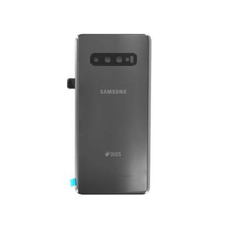 Vitre arrière Samsung Galaxy S10 Plus Duos G975F/DS noir