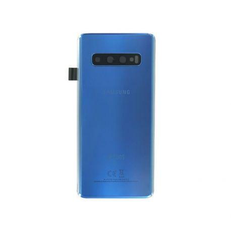 Vitre arrière Samsung Galaxy S10 Duos G973F/DS bleu