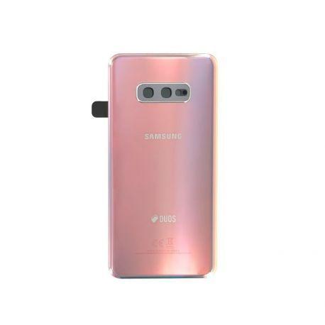 Vitre arrière Samsung Galaxy S10e Duos G970F/DS argent