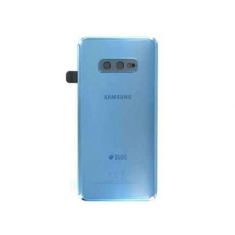 Vitre arrière Samsung Galaxy S10e Duos G970F/DS bleu