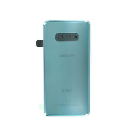 Vitre arrière Samsung Galaxy S10e Duos G970F/DS vert