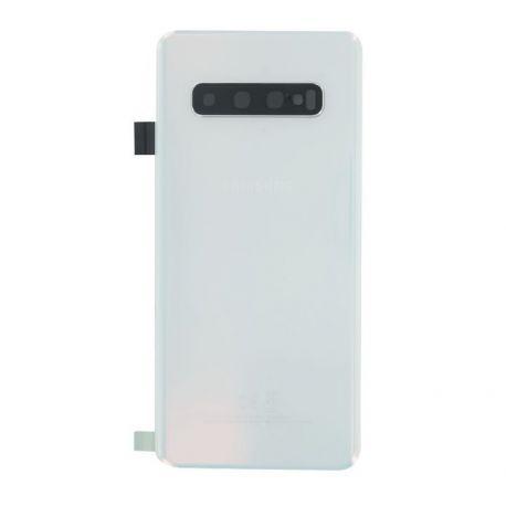 Vitre arrière Samsung Galaxy S10 G973F blanc