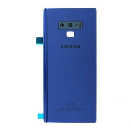 Vitre arrière Samsung Galaxy Note 9 N960F bleu