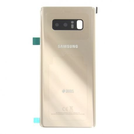 Vitre arrière Samsung Galaxy Note 8 N950F DUOS or