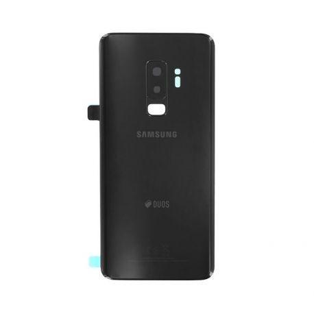 Vitre arrière Samsung Galaxy S9+ Duos G965F/DS noir