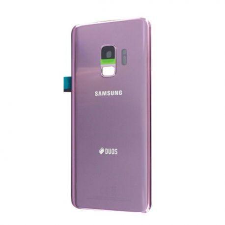 Vitre arrière Samsung Galaxy S9+ Duos G965F/DS violet