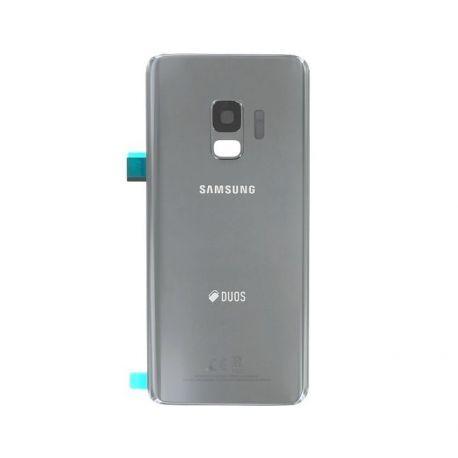 Vitre arrière Samsung Galaxy S9+ Duos G965F/DS gris