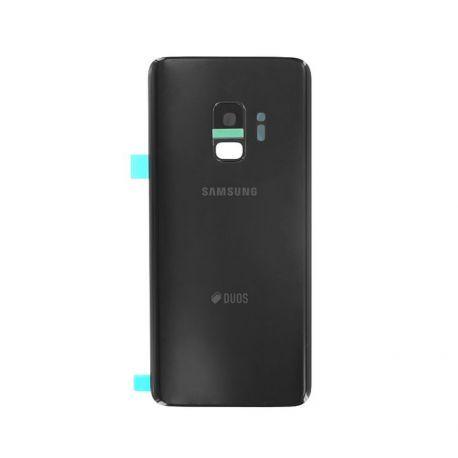 Vitre arrière Samsung Galaxy S9 Duos G960F/DS noir