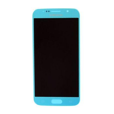 Ecran Samsung Galaxy S6 G920F bleu