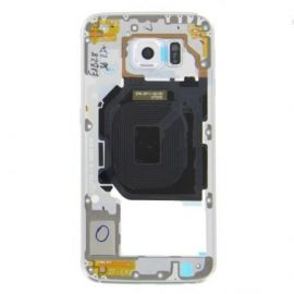 Samsung Galaxy S6 Middle Cover blanc