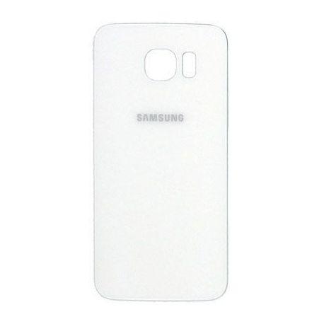 Vitre arrière Vitre arrière Samsung Galaxy S6 - Blanc